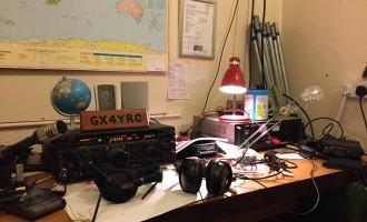 英国:在GX4YRC集体台操作80米波段